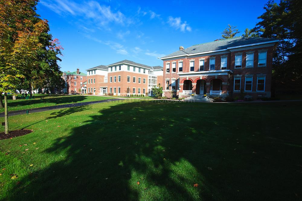 _8FI7544. New Hampton, NH, USA. ©2009 Chip Riegel / www.chipriegel.com. 09/29/2009. The New Hampton School, fall 2009.