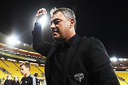 Phoenix head coach Mark Rudan after their Hyundai A League match. Wellington Phoenix v Melbourne City FC. Westpac Stadium, Wellington, New Zealand. Saturday 26 January 2019. ©Copyright Photo: Chris Symes / www.photosport.nz