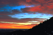 Sunrise from Lookout Mountain, Colorado.