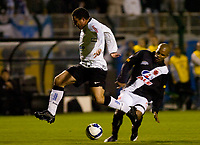 20090603: RIO DE JANEIRO, BRAZIL - Corinthians vs Santos FC – Semi Finals: Brazilian Cup 2009. In picture: Ronaldo (Corinthians) and Amaral (Vasco). PHOTO: CITYFILES