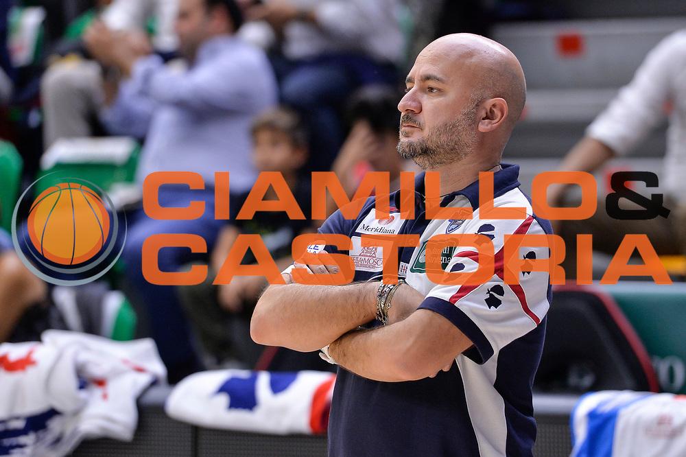 DESCRIZIONE : Beko Legabasket Serie A 2015- 2016 Dinamo Banco di Sardegna Sassari -Vanoli Cremona<br /> GIOCATORE : Matteo Boccolini<br /> CATEGORIA : Ritratto Before Pregame<br /> SQUADRA : Dinamo Banco di Sardegna Sassari<br /> EVENTO : Beko Legabasket Serie A 2015-2016<br /> GARA : Dinamo Banco di Sardegna Sassari - Vanoli Cremona<br /> DATA : 04/10/2015<br /> SPORT : Pallacanestro <br /> AUTORE : Agenzia Ciamillo-Castoria/L.Canu