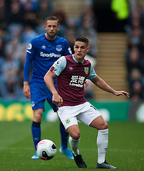 Ashley Westwood of Burnley (L) in action - Mandatory by-line: Jack Phillips/JMP - 05/10/2019 - FOOTBALL - Turf Moor - Burnley, England - Burnley v Everton - English Premier League