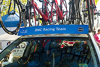 BMC Racing Team car at Peoples Choice Classic criterium at the start of the Tour Down Under, Australia on the 14 of January 2018 ( Credit Image: © Gary Francis / ZUMA WIRE SERVICE )