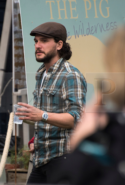 © Licensed to London News Pictures.4/08/2017. British actor Kit Harrington who plays Jon Snow in Games of thrones attends Wilderness Festival at Cornbury Park in Oxfordshire. Photo credit : Mark Hemsworth/LNP