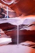 america, antelope, arid, arizona, beauty, canyon, cave, cavern, dark, darkness, deep, depth, desert, eroded, erosion, in, landscape, light, mystery, nature, navajo, orange, outdoors, powell, red, rock, sand, sandstone, slot, southwest, states, stone, sunbeam, textured, tourist, travel, united, upper, usa, water, yellow