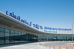 New Al Maktoum International Airport at Dubai World Central district in Dubai United Arab Emirates