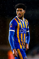 Josh Laurent of Shrewsbury Town - Mandatory by-line: Robbie Stephenson/JMP - 05/02/2019 - FOOTBALL - Molineux - Wolverhampton, England - Wolverhampton Wanderers v Shrewsbury Town - Emirates FA Cup fourth round replay