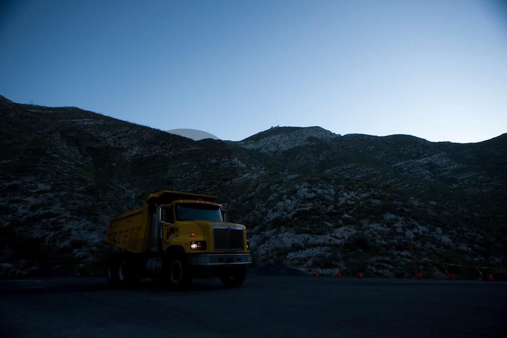 Nuevo camion para transporte de escoria