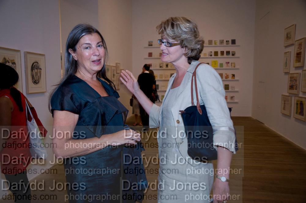 VICTORIA MIRO; JUDITH NESBITH, Per Kirkeby Opening Reception and Dinner. Tate Modern. 16 June 2009.
