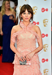 Ophelia Lovibond arriving for the Virgin TV British Academy Television Awards 2017 held at Festival Hall at Southbank Centre, London. PRESS ASSOCIATION Photo. Picture date: Sunday May 14, 2017. See PA story SHOWBIZ Bafta. Photo credit should read: Matt Crossick/PA Wire