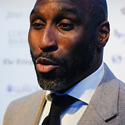 Sol Campbell Arrives at London Football Awards 2018 at Battersea Evolution on 1st March 2018,  London, UK.
