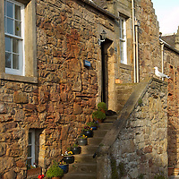 Stone cottage in Crail, Fife, Scotland