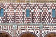 Kloster Lorsch, Detailansicht der Königshalle, UNESCO Weltkulturerbe, Hessen, Deutschland | Lorsch Abbey, King's Hall, a UNESCO World Heritage Site, Hessen, Germany