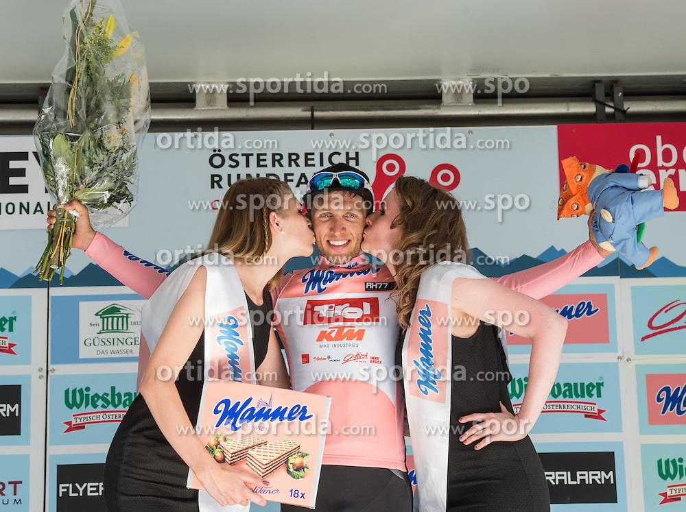04.07.2016, Steyr, AUT, Ö-Tour, Österreich Radrundfahrt, 2. Etappe, Mondsee nach Steyr, im Bild Clemens Fankhauser (AUT, Tirol Cycling Team) // during the Tour of Austria, 2nd Stage from Mondsee to Steyr, Austria on 2016/07/04. EXPA Pictures © 2016, PhotoCredit: EXPA/ Reinhard Eisenbauer