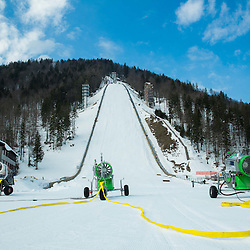 20150216: SLO, Ski Jumping - Reconstruction of Flying hill in Planica
