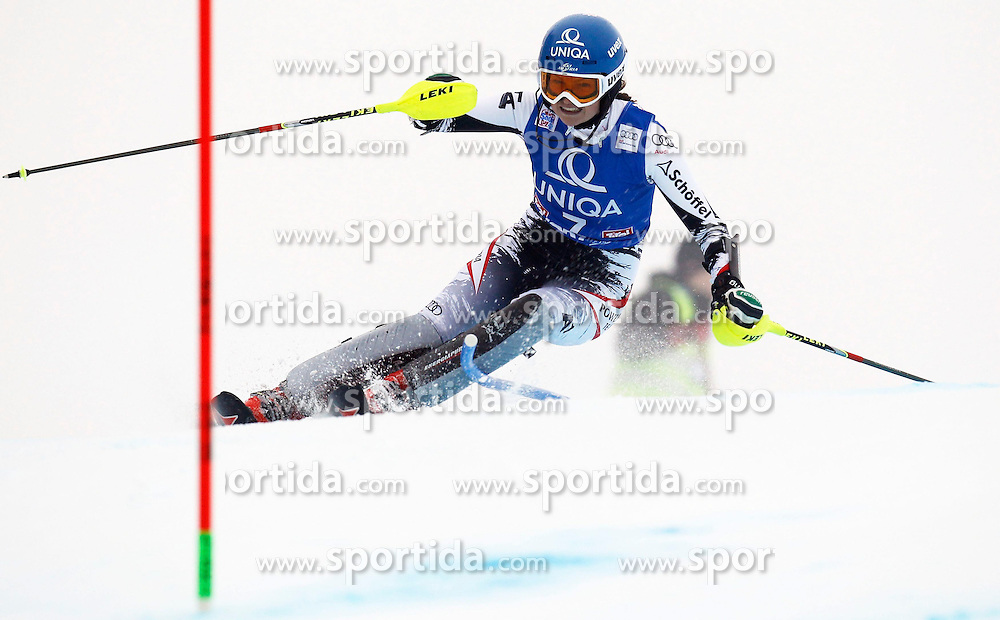 29.12.2013, Hochstein, Lienz, AUT, FIS Weltcup Ski Alpin, Damen, Slalom 1. Durchgang, im Bild Bernadette Schild (AUT) // Bernadette Schild of (AUT) during ladies Slalom 1st run of FIS Ski Alpine Worldcup at Hochstein in Lienz, Austria on 2013/12/29. EXPA Pictures © 2013, PhotoCredit: EXPA/ Oskar Höher