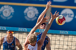 25-08-2019 NED: DELA NK Beach Volleyball, Scheveningen<br /> Last day NK Beachvolleyball / Christiaan Varenhorst #2
