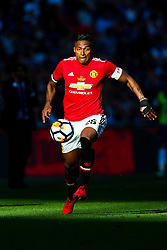 Luis Antonio Valencia of Manchester United in action - Rogan/JMP - 19/05/2018 - FOOTBALL - Wembley Stadium - London, England - Chelsea v Manchester United - FA Cup Final.