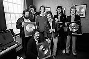 Dire Straits and Mark Knopfler <br />  - at a 1982 Polydor gold record presentation.