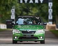 Skoda Fabia vRS, Goodwood Festival of Speed 2011, Moving Motor Show