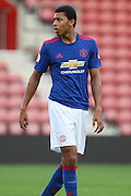 Devonte Redmond of Manchester United U23's during the Under 23 Premier League 2 match between Southampton and Manchester United at St Mary's Stadium, Southampton, England on 22 August 2016. Photo by Phil Duncan.