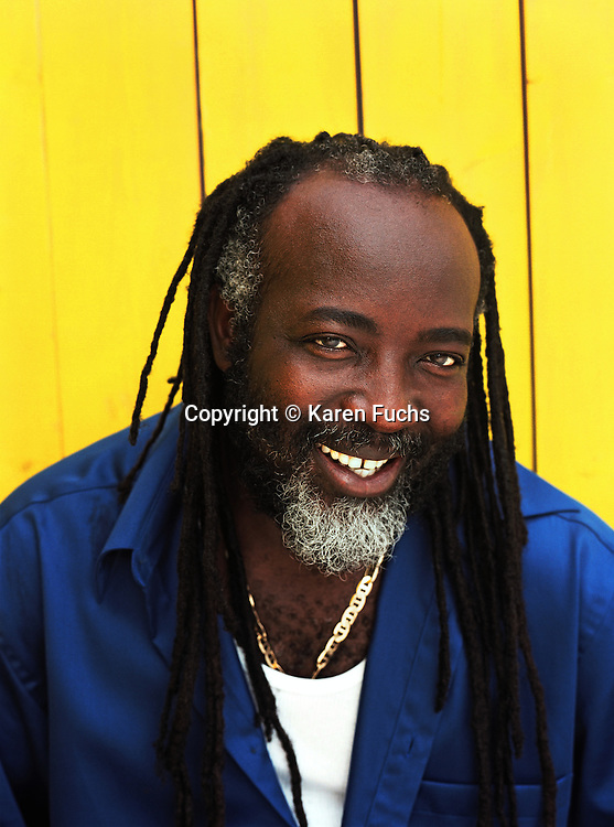 Freddie McGregor, CD Album Cover shot in Miami for VP Records
