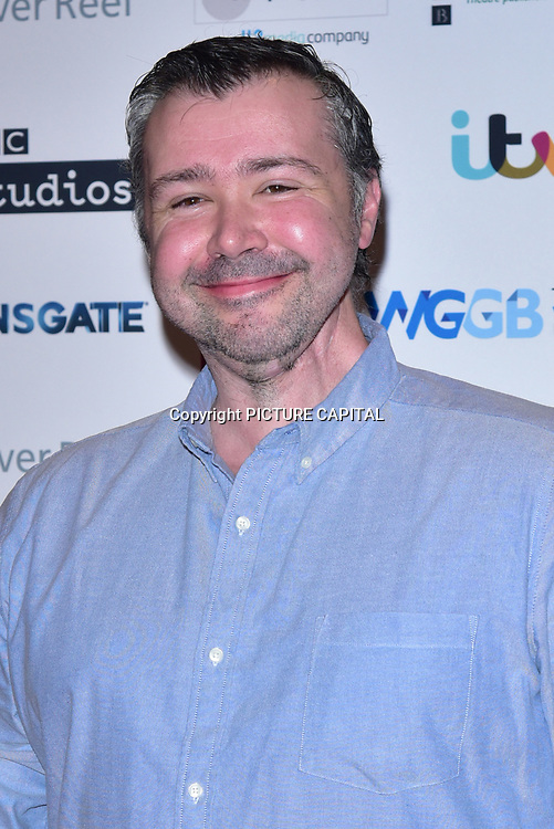 Steven Hall attends The Writers' Guild Awards at Royal College of Physicians on 15th January 2018.
