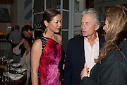 CATHERINE ZETA JONES; MICHAEL DOUGLAS, Dom PŽrignon with Alex Dellal, Stavros Niarchos, and Vito Schnabel celebrate Dom PŽrignon Luminous. W Hotel Miami Beach. Opening of Miami Art Basel 2011, Miami Beach. 1 December 2011. .<br /> CATHERINE ZETA JONES; MICHAEL DOUGLAS, Dom Pérignon with Alex Dellal, Stavros Niarchos, and Vito Schnabel celebrate Dom Pérignon Luminous. W Hotel Miami Beach. Opening of Miami Art Basel 2011, Miami Beach. 1 December 2011. .