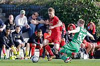 *Fredrik Midtsjo* of AZ Alkmaar, *Silvan Gonitzer* of FC St Gallen,