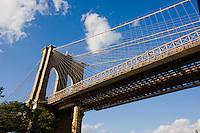 Brooklyn Bridge in Dumbo New York October 2008