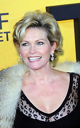 © Licensed to London News Pictures. 09/01/2014, UK. Fiona Fullerton, The Wolf of Wall Street - UK film premiere, Odeon Leicester Square, London UK, 09 January 2014. Photo credit : Richard Goldschmidt/Piqtured/LNP