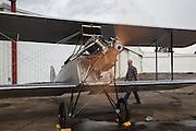Waco 9 engine test at WAAAM.