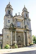 Church and convent of San Francisco Santiago de Compostela, Galicia, Spain