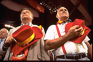 Arizona delegation..Scene from the Republican National Convention floor.