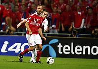 Fotball , 6. september 2011 , EM-kvalifisering<br /> Danmark - Norge 2-0<br /> <br /> Euro Qual.<br /> Denmark - Norway<br /> Espen Ruud , Norge<br /> Dennis Rommedahl  , Danmark