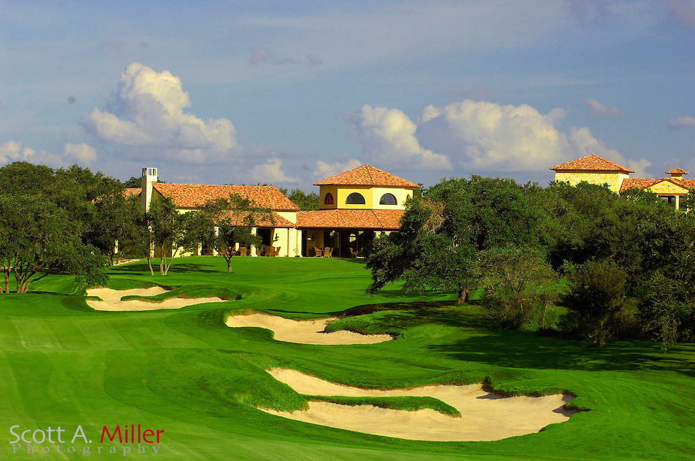 Hole No. 18 at the Briggs Ranch Golf Club on Sept. 7, 2007 in San Antonio, Texas... .                ©2007 Scott A. Miller