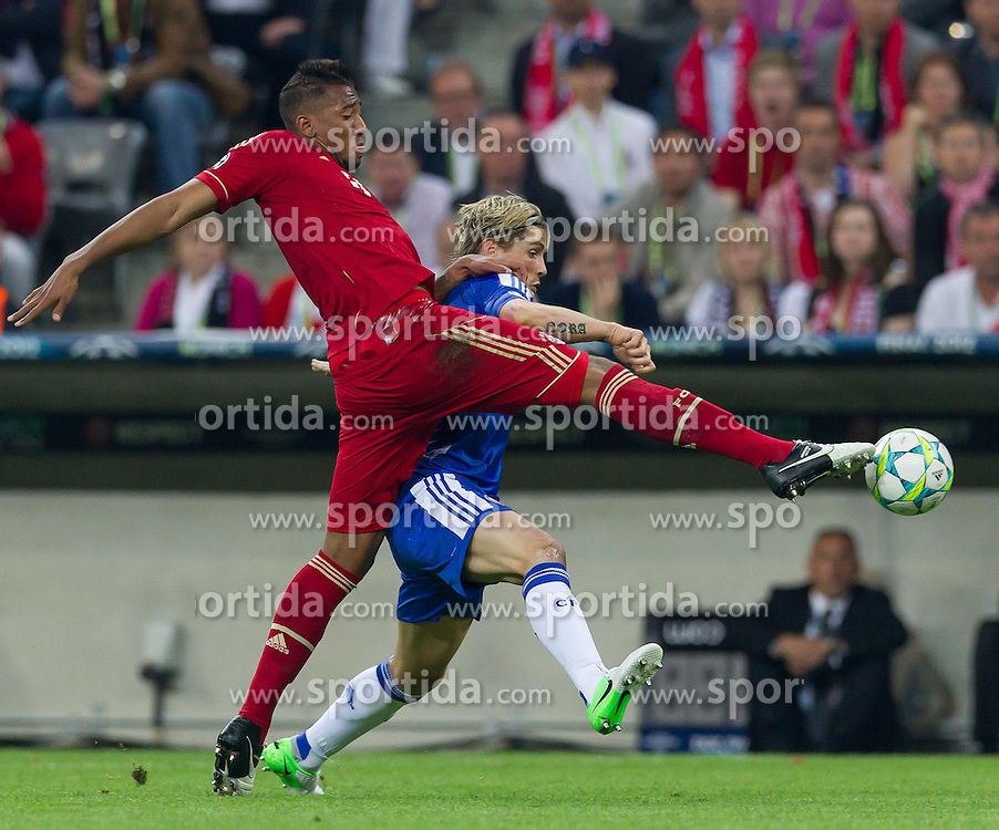 19.05.2012, Allianz Arena, Muenchen, GER, UEFA CL, Finale, FC Bayern Muenchen (GER) vs FC Chelsea (ENG), im Bild Zweikampf zwischen Jerome Boateng, (FC Bayern München #17) und Fernando Torres, (FC Chelsea, #09) during the Final Match of the UEFA Championsleague between FC Bayern Munich (GER) vs Chelsea FC (ENG) at the Allianz Arena, Munich, Germany on 2012/05/19. EXPA Pictures © 2012, PhotoCredit: EXPA/ Peter Rinderer