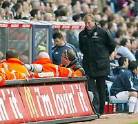 Photo: Chris Ratcliffe.<br /> Middlesbrough v West Ham United. The FA Cup, Semi-Final. 23/04/2006.<br /> Steve McLaren looks as confused as anyone about the England job?