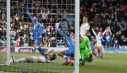 Ivan Toney of Peterborough United scores his sides second goal of the game - Mandatory by-line: Joe Dent/JMP - 04/05/2019 - FOOTBALL - ABAX Stadium - Peterborough, England - Peterborough United v Burton Albion - Sky Bet League One