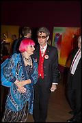 ZANDRA RHODES; DUGGIE FIELDS, Allen Jones private view. Royal Academy,  London. 11 November  2014.