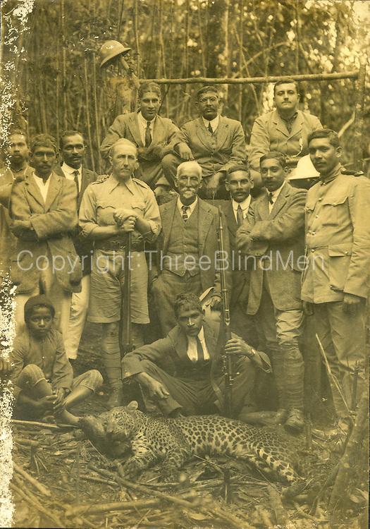 Leopard Hunt, Ceylon.<br /> Modder Collection