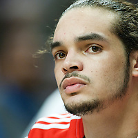 19 December 2009: Chicago Bulls center Joakim Noah is seen during the Chicago Bulls 101-98 victory in overtime over the Atlanta Hawks at the United Center, in Chicago, Illinois, USA.