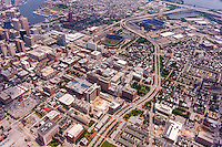 University of Maryland Baltimore Campus aerial photo by Jeffrey Sauers of Commercial Photographics, Architectural Photo Artistry in Washington DC, Virginia to Florida and PA to New England
