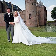 NLD/Muiderberg/19990807 - Huwelijk Richard Krajicek en Daphne Deckers