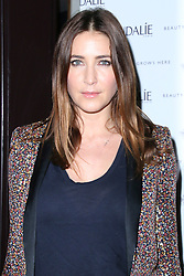 © Licensed to London News Pictures. 10/02/2014, UK. Lisa Snowdon  arrives on the green carpet to celebrate the VIP opening of the UK's first ever French skincare brand Caudalie Boutique, Covent Garden, London UK, 10 February 2014. Photo credit : Richard Goldschmidt/Piqtured/LNP
