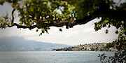 Panorama of Lake Lucerne near Weggis, Switzerland. Full uncropped version available upon request.