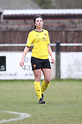 Leigh Anne Robe during the Women's FA Cup match between Watford Ladies FC and Brighton Ladies at the Broadwater Stadium, Berkhampstead, United Kingdom on 1 February 2015. Photo by Stuart Butcher.