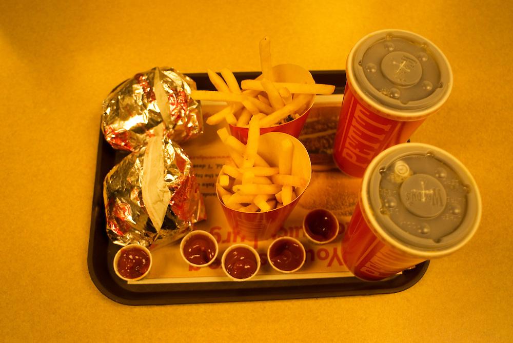 Kelowna, BC - 28/02/09 -  Fast food. Photo by Daniel Hayduk