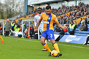 Mansfield Town defender Malvind Benning (3) during the EFL Sky Bet League 2 match between Mansfield Town and Crawley Town at the One Call Stadium, Mansfield, England on 19 November 2016. Photo by Simon Trafford.
