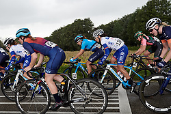Sheyla Gutierrez Ruiz (ESP) and Eugenie Duval (FRA) at Boels Ladies Tour 2019 - Stage 2, a 113.7 km road race starting and finishing in Gennep, Netherlands on September 5, 2019. Photo by Sean Robinson/velofocus.com